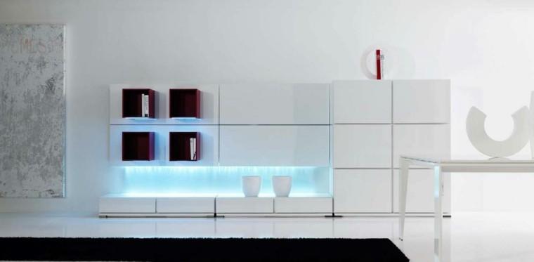 Decoracion de salones de estilo minimalista - Muebles de salon de diseno minimalista ...