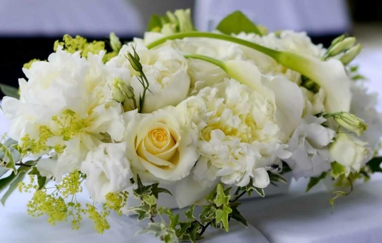 etupendo centro mesa color blanco