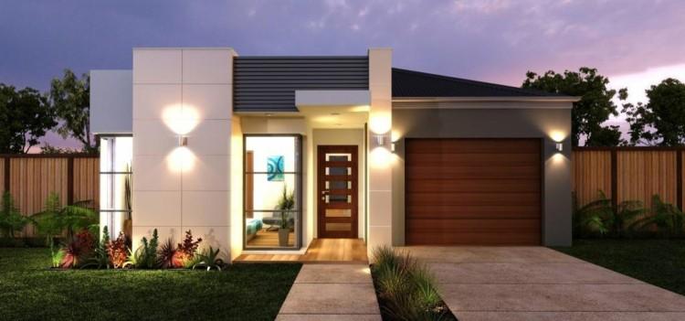 Fachadas modernas para todos los gustos y estilos for Casas modernas fachadas de un piso