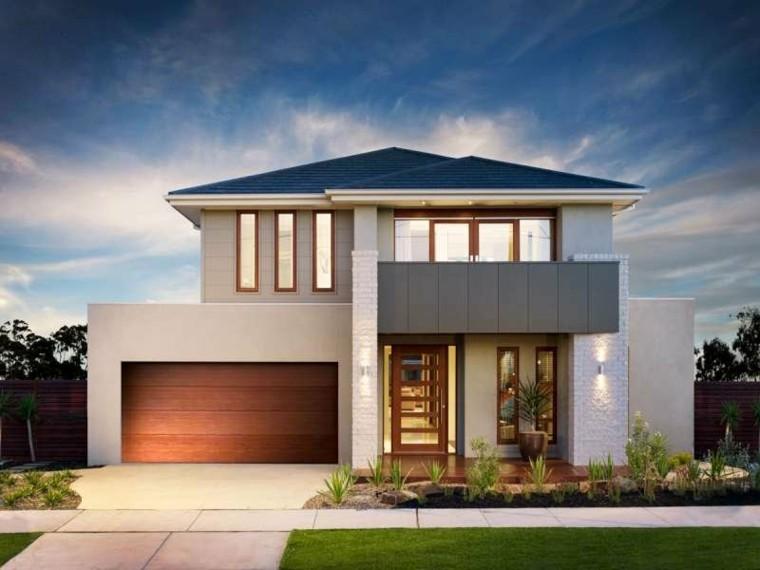 Front Elevation Of Houses In Australia : Fachadas modernas de estilo contemporáneo