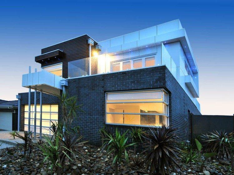 fachadas modernas casa diseo deco with casas de diseo moderno