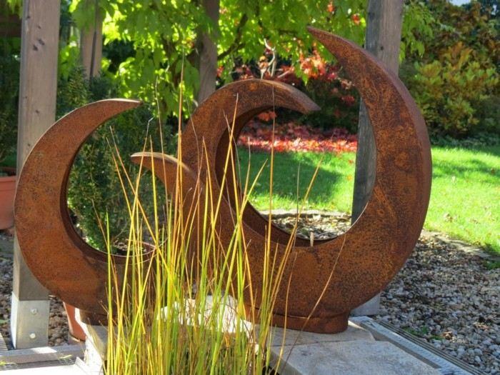 figuras formas preciosas decorar jardin ideas