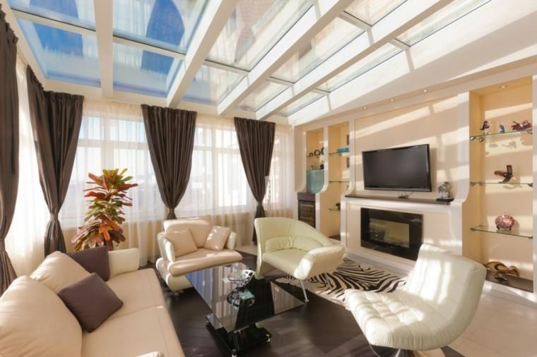 fotos salones sofa sillones color blanco ideas