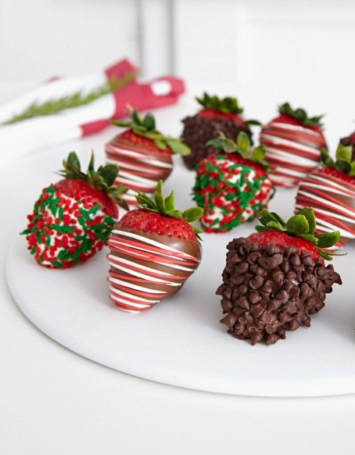 fresas distinto chococlate sorprender amigos ideas