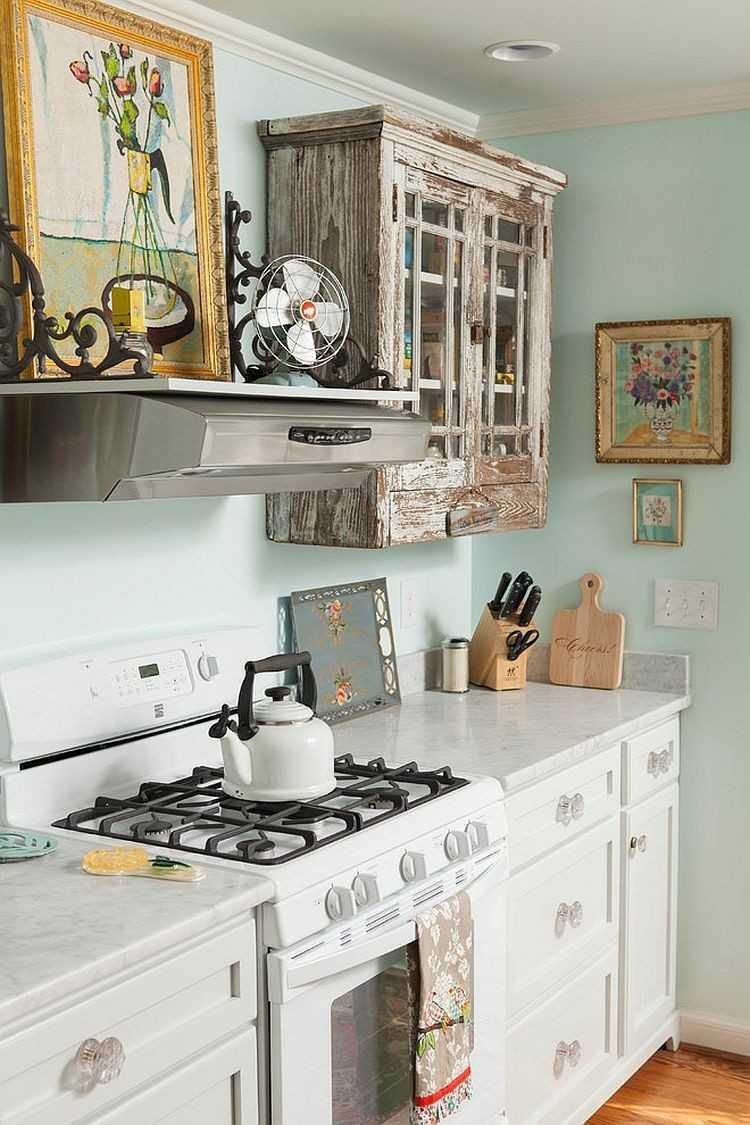 fresca cocina diseños elegante muebles flores