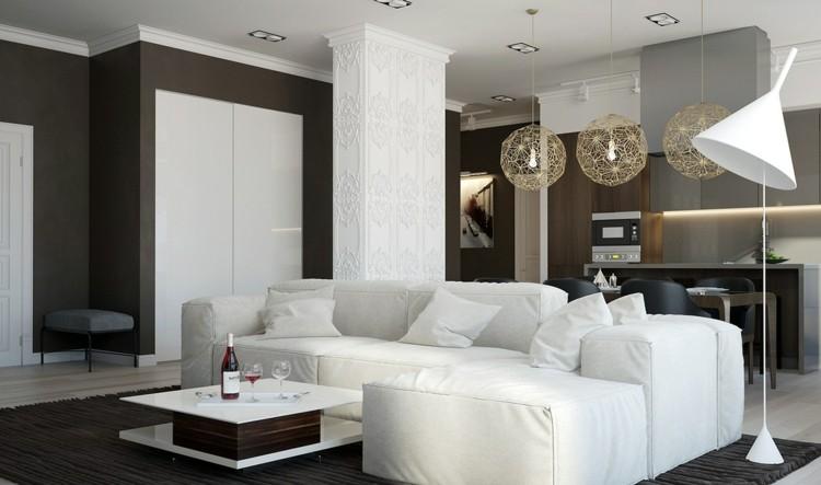 fresco ambiente diseños salones ideas blanco