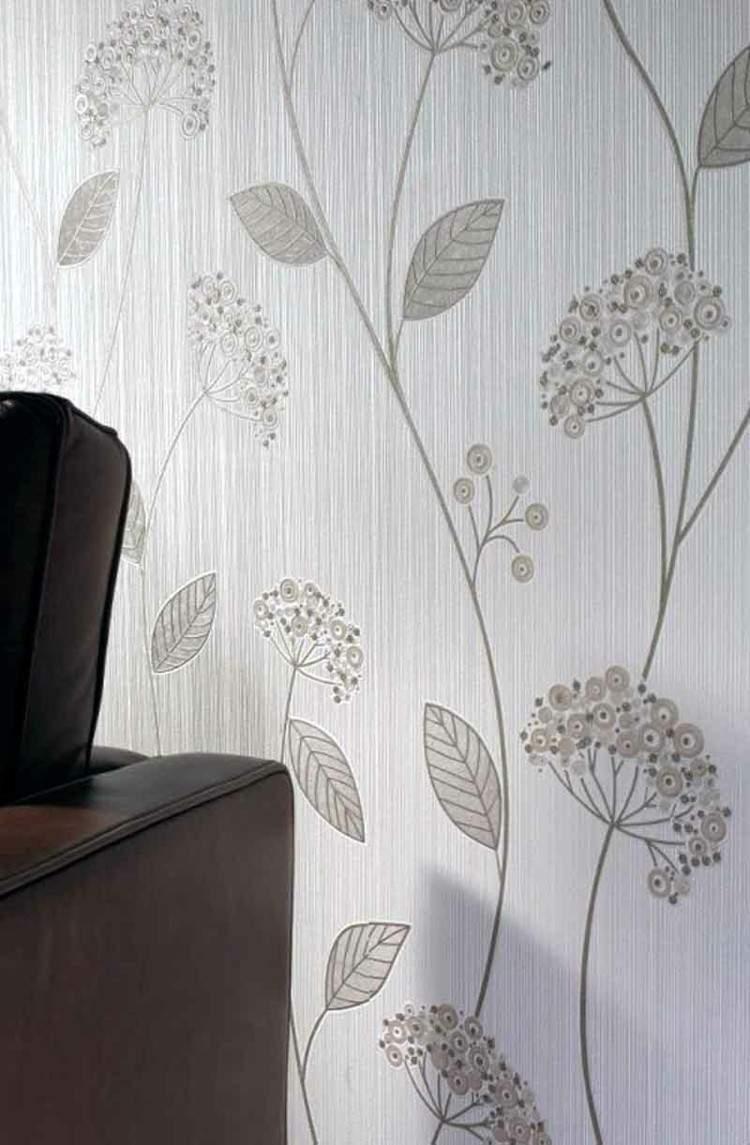 fresco flores paredes decorado ondulado ideas
