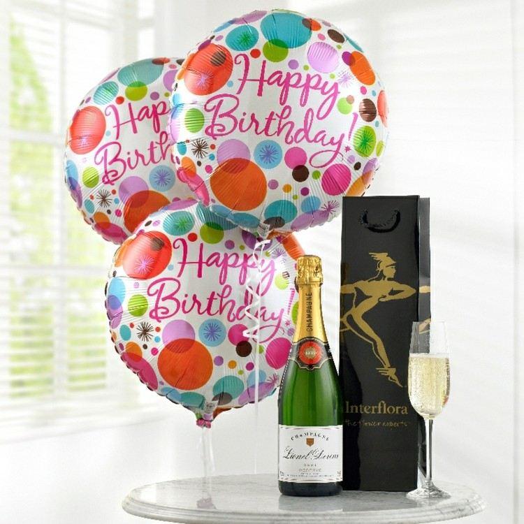 globos de cumpleaños muchos colores