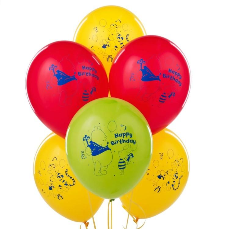 globos de cumpleaños varios colores