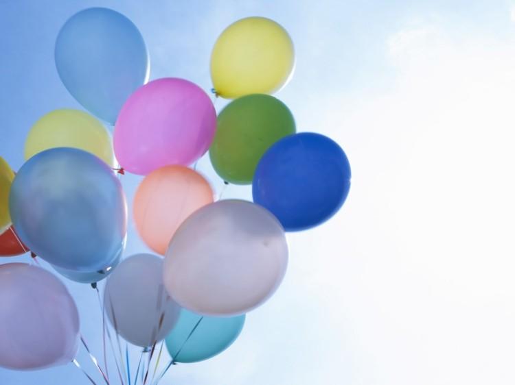 globos de cumpleaños soluciones luminoso rosa