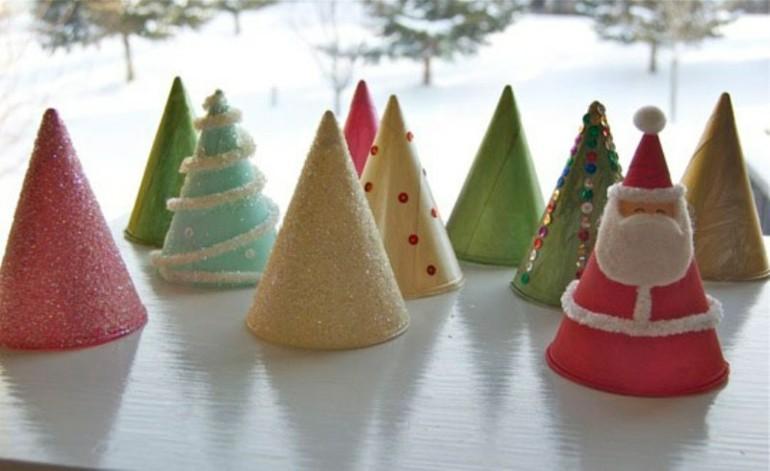 gorritos deco conos adornos navidad