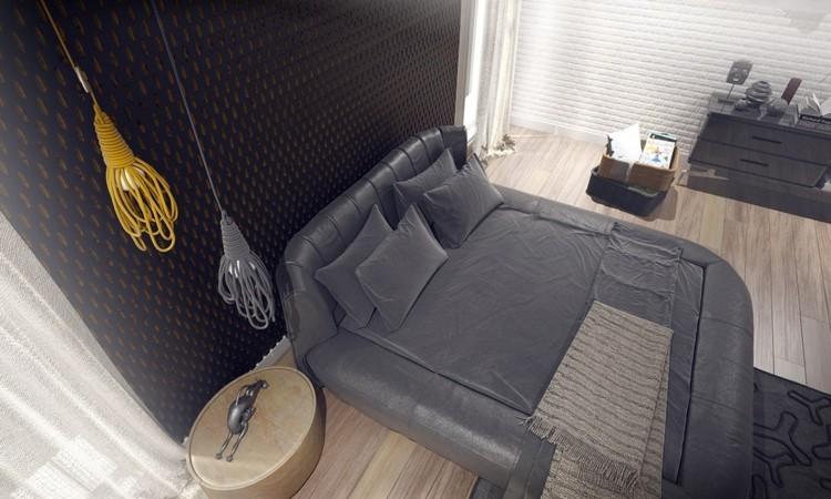 grises lamparas sillones mesa cordones