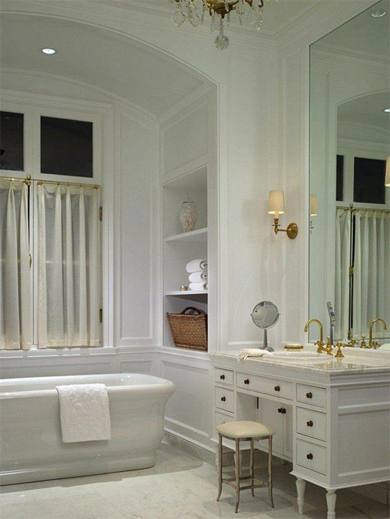 Habitaciones vintage 37 ideas retro para el hogar for Banos estilo vintage