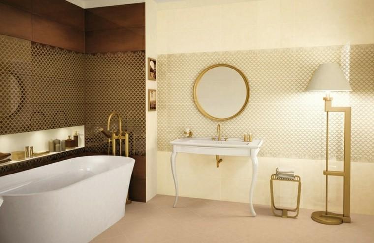 habitacion vintage bano lavabo precioso espejo ideas