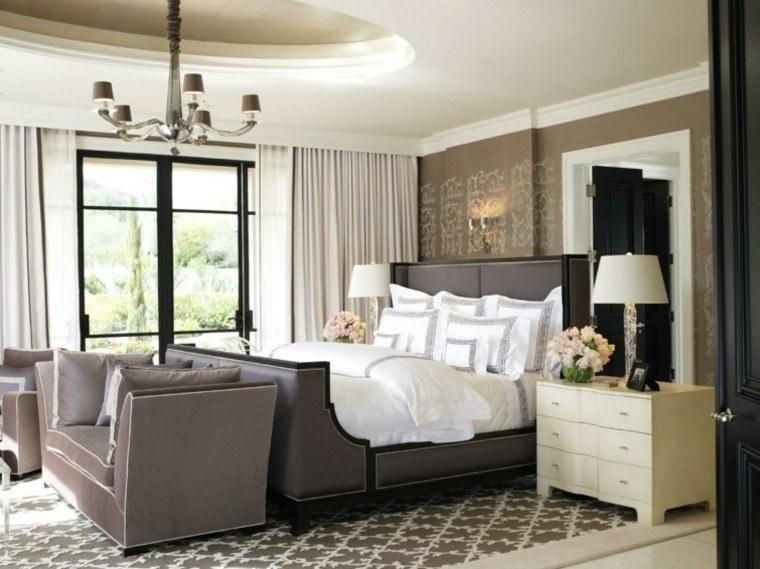 habitaciones vintage dormitorio elegante ideas