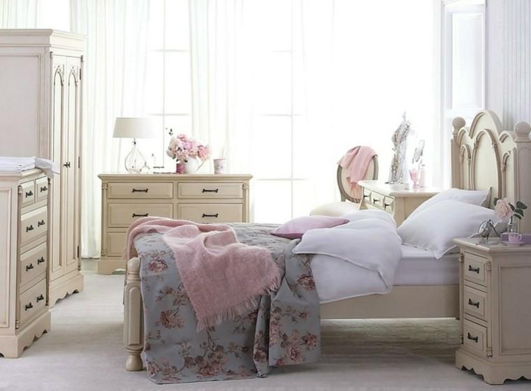 habitaciones vintage muebles preciosos ideas