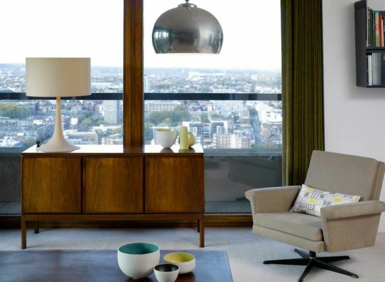 habitacion vintage salon ventanal luminoso ideas