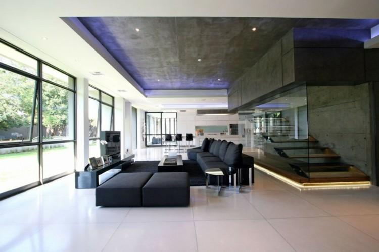 hiormigon diseño fresco jardines sofas escaleras