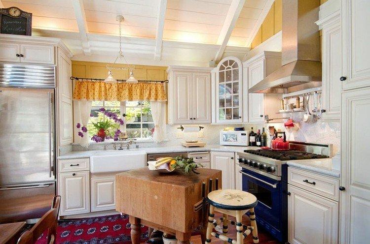 idea cocina diseños elegante isla alfombras