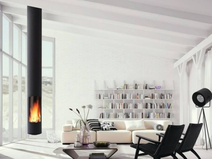 ideas chimeneas decoracion casas fuego