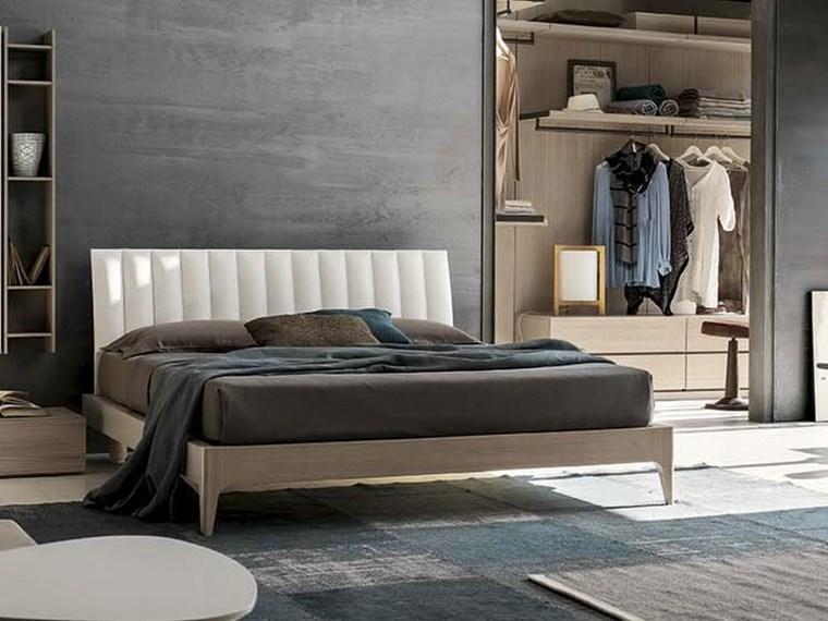 ideas de decoracion dormitorio armario abierto moderno