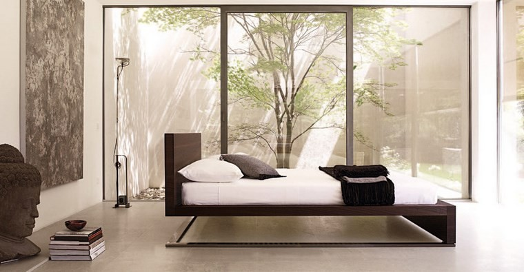 ideas de decoracion dormitorio cama original moderno