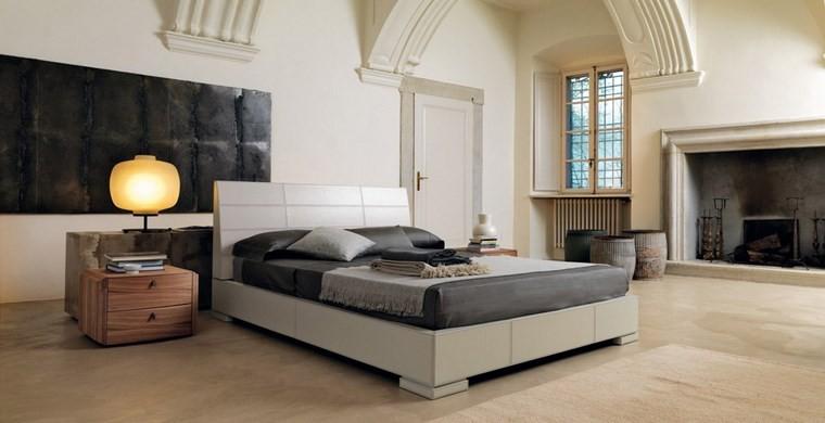 ideas de decoracion dormitorio cuadro negro moderno
