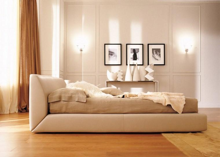 ideas de decoracion dormitorio cuadros jarrones moderno