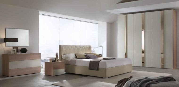 decoracion dormitorio moderno amplio ideas