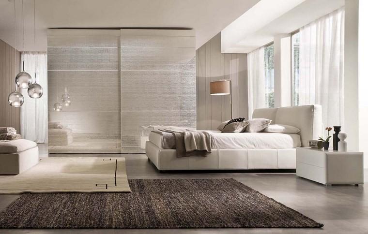 decoracion dormitorio muebles blancos ideas