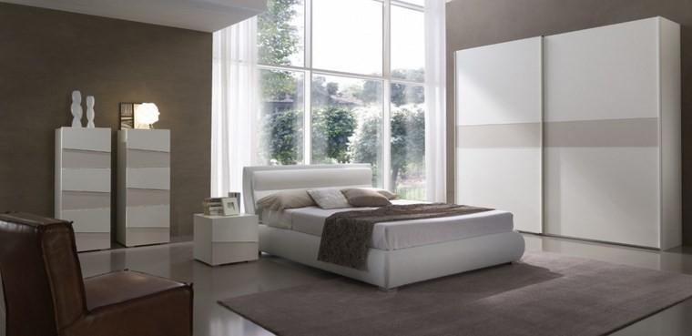 decoracion dormitorio pared color beige ideas