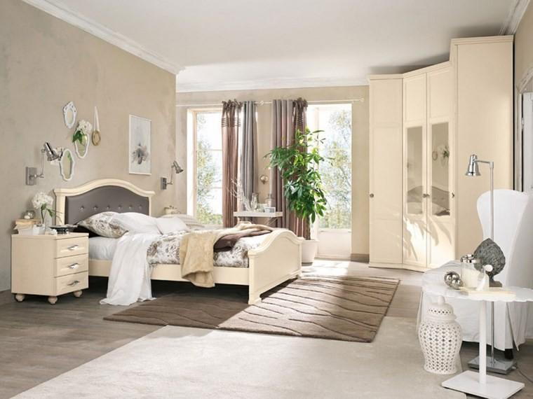 decoracion dormitorio plantas muebles estilo clasico ideas