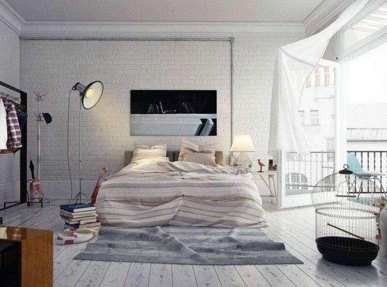 decoracion dormitorio estilo vintage moderno