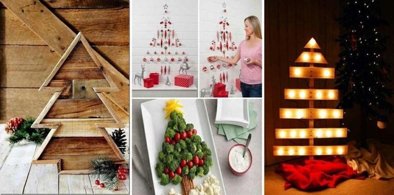 ideas hacer abetos navidad caseros
