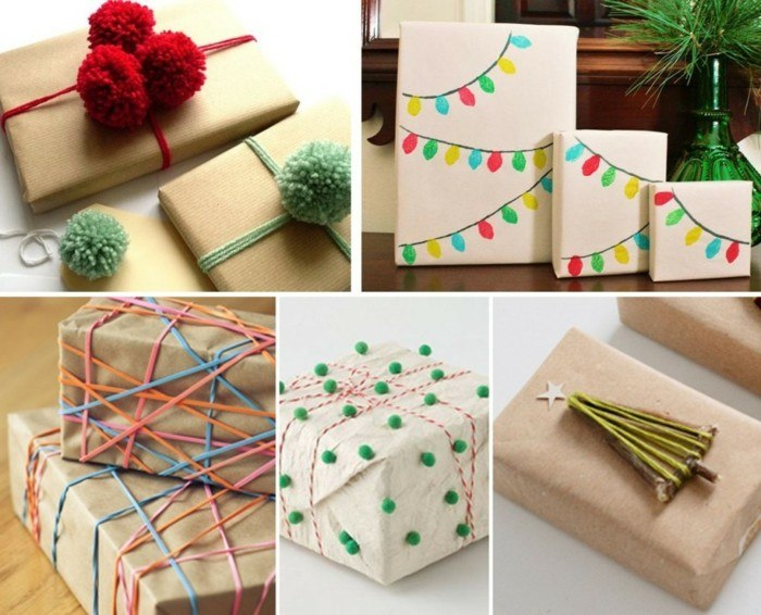 decorar regalos interesantes ideas