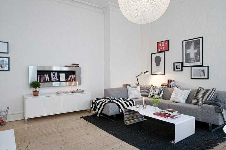 ideas-para-decorar-salon-alfombra-negra