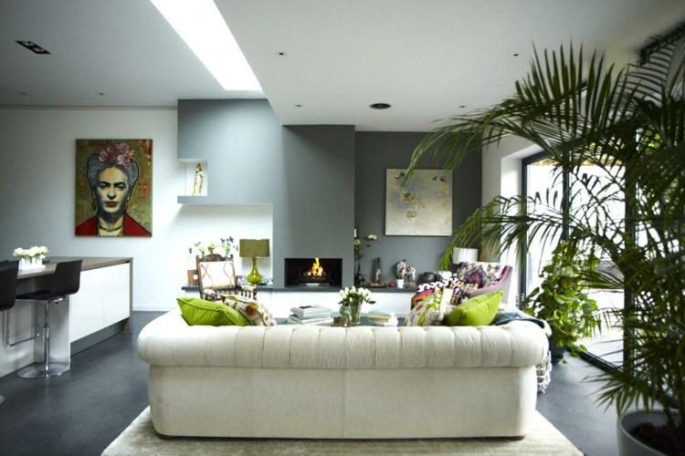 ideas para decorar salon soluciones diseños blanco
