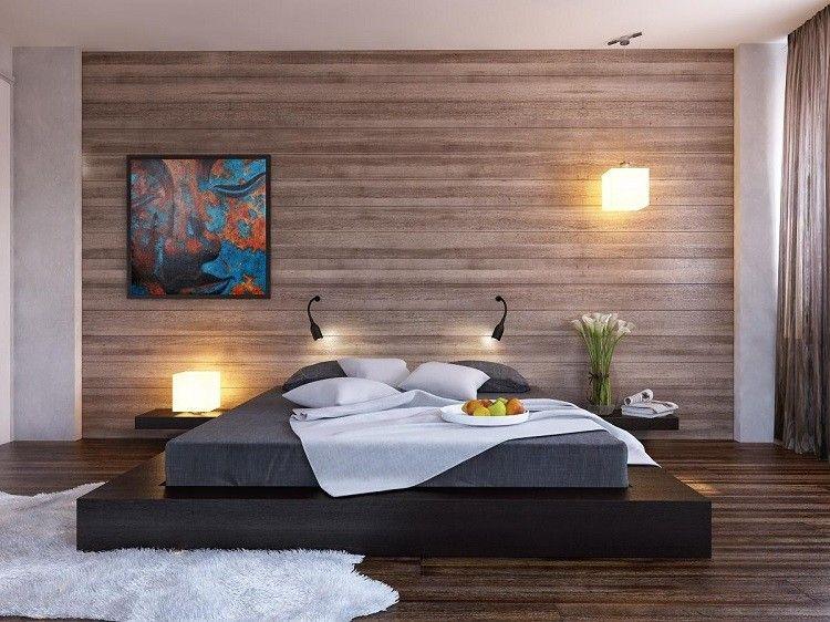 Iluminacion Opciones Originales Pared Dormitorio Minimalista Ideas