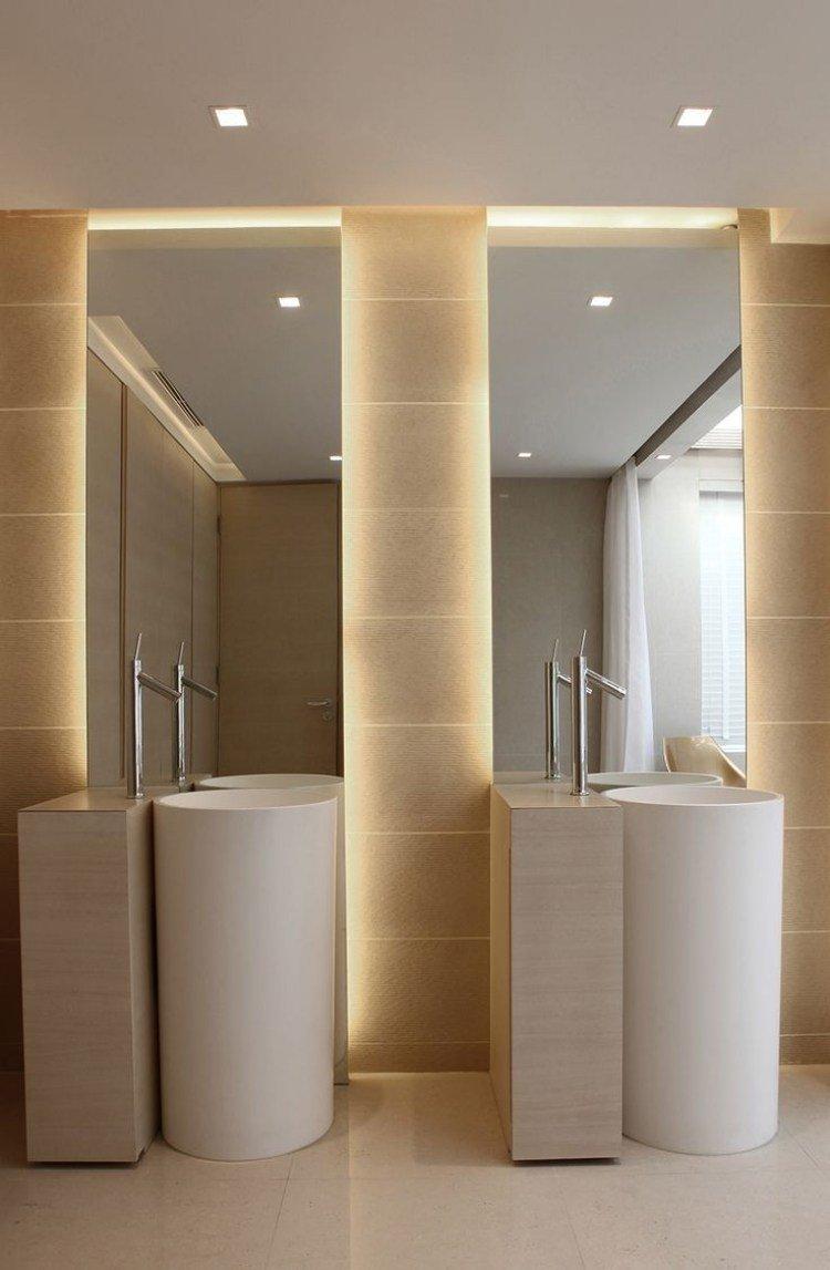 Lamparas originales para ba o for Espejos de pared originales