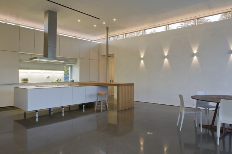 Iluminacion opciones originales para la pared - Iluminacion en la cocina ...