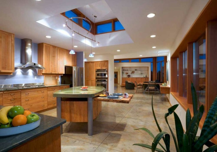 imagenes de cocinas muebles madera