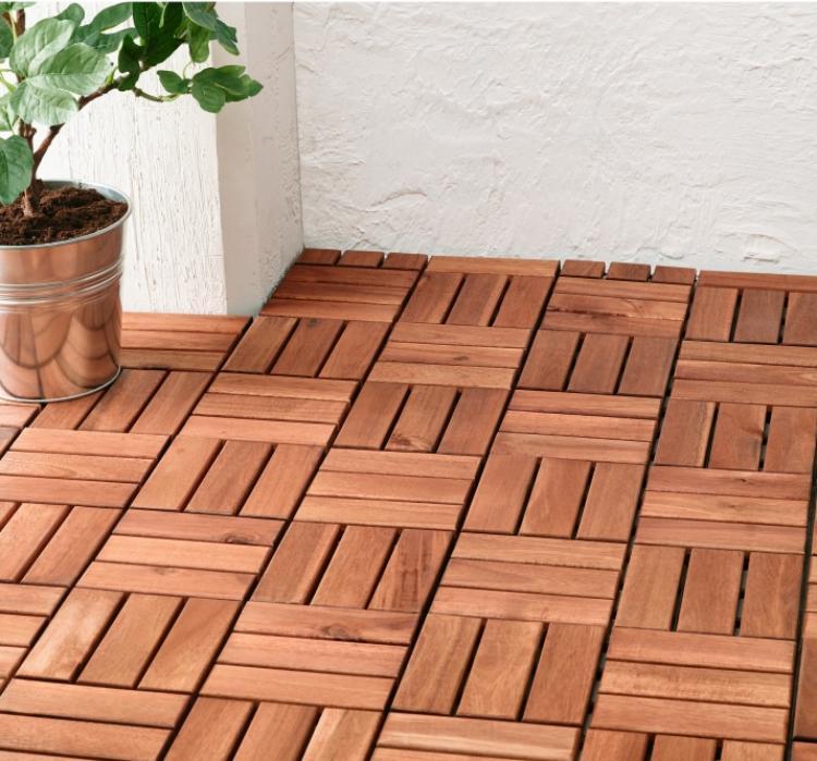 Suelos de madera 50 ideas para el balc n - Suelo madera exterior leroy merlin ...