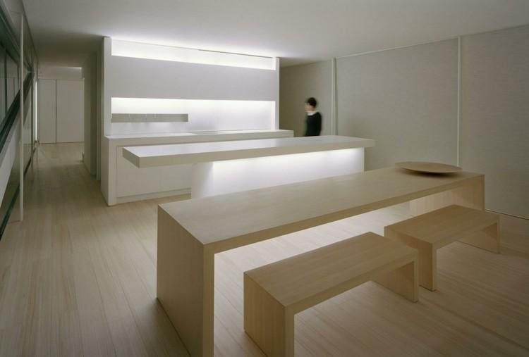 interiores diseño minimalista luces indirectas