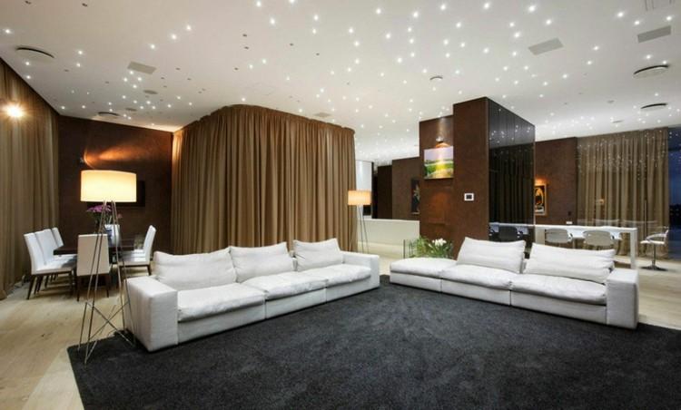 interiorismo ideas madera luces alfombras