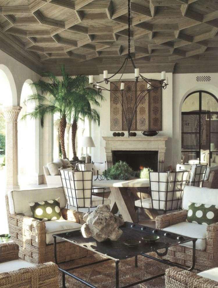 interiorismo ideas madera plantas interiores