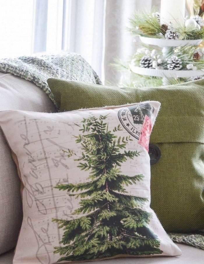 invierno opciones decorar cocina arbol navidad ideas