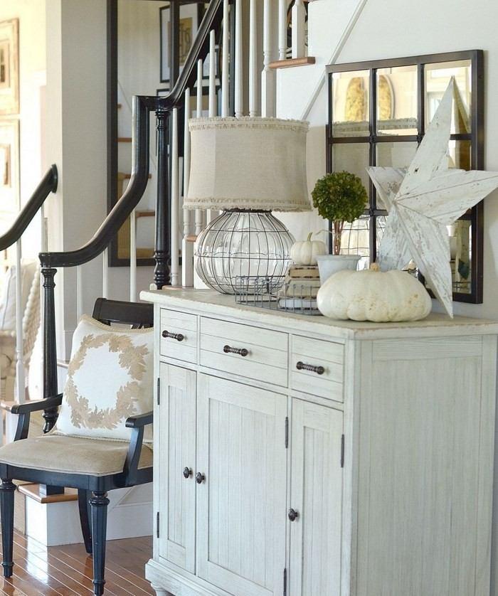 invierno opciones decorar cocina armario blanco ideas