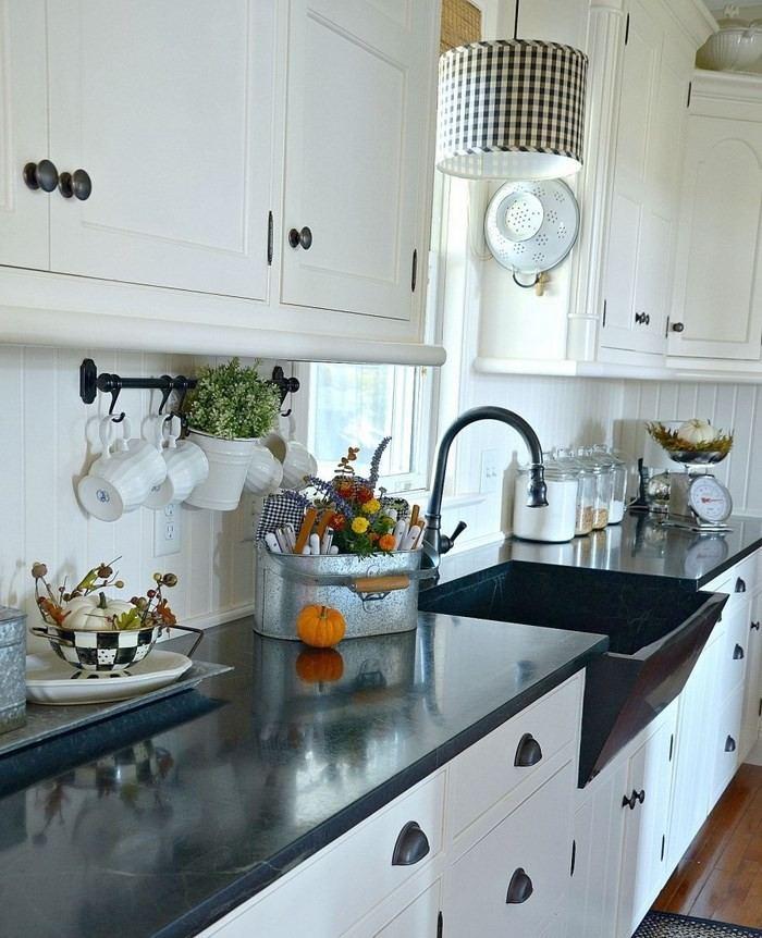 invierno opciones decorar cocina calabaza pequena ideas