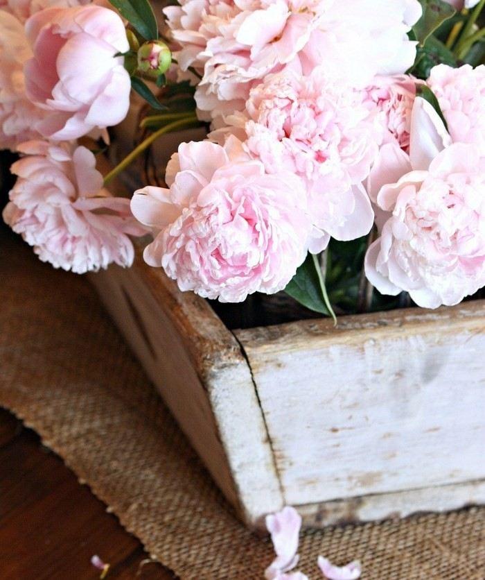 opciones decorar cocina flores frescas ideas
