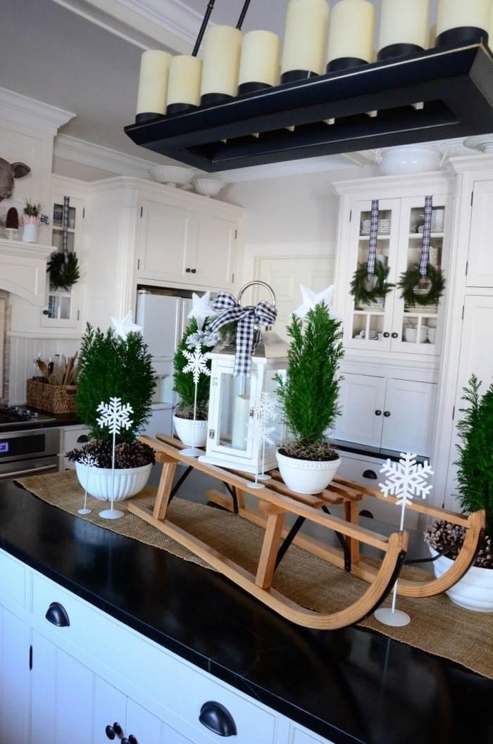 opciones decorar cocina trineo madra ideas